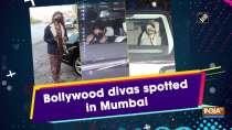 Bollywood divas spotted in Mumbai