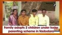 Family adopts 2 children under foster parenting scheme in Vadodara