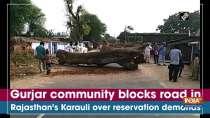 Gurjar community blocks road in Rajasthan
