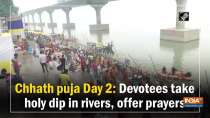 Chhath puja Day 2: Devotees take holy dip in rivers, offer prayers