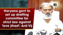 Haryana govt to set up drafting committee for strict law against