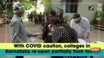 With COVID caution, colleges in Karnataka re-open partially from today