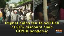 Imphal holds fair to sell fish at 20% discount amid COVID pandemic