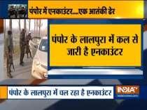 Jammu and Kashmir: Terrorist killed in Pampore encounter