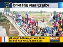Special News | Traffic congestion at Delhi-Gurugram border due to farmers