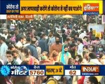 People throng Delhi
