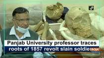 Panjab University professor traces roots of 1857 revolt slain soldiers