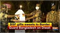BSF gifts sweets to Border Guard Bangladesh on Diwali
