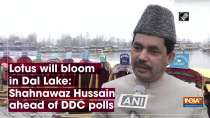Lotus will bloom in Dal Lake: Shahnawaz Hussain ahead of DDC polls