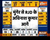 Bihar Election Result 2020: BJP is ahead on 22 seats, RJD on 26