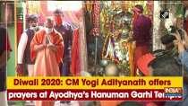 Diwali 2020: CM Yogi Adityanath offers prayers at Ayodhya