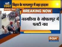 1 dead as boat with 50 onboard capsizes in river Ganga in Bihar