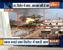 UP: Three gas cylinders explode in Shamli, 2 grievously injured