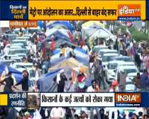 Farmers protest: Commuters stranded on Delhi-Chandigarh highway