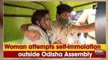Woman attempts self-immolation outside Odisha Assembly