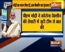 PM Modi interacts with 3 teams working on COVID-19 vaccine