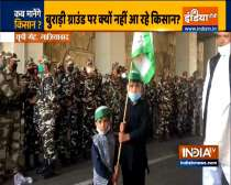 Farmers arrive at Ghaziabad-Delhi border in support of