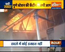 Pune: Fire breaks out at Daund Railway Station