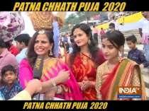 Chhath Puja: Devotees in Patna sing Chhath songs