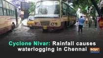 Cyclone Nivar: Rainfall causes waterlogging in Chennai
