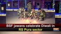 BSF jawans celebrate Diwali in RS Pura sector