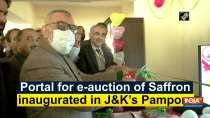 Portal for e-auction of Saffron inaugurated in JandK