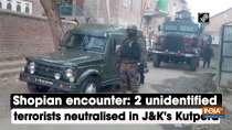 Shopian encounter: 2 unidentified terrorists neutralised in J and K