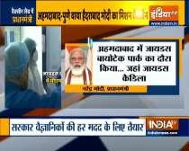 I compliment the team: PM Modi reviews Covid vaccine development at Zydus Cadila facility
