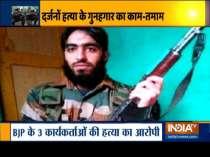 Hizbul chief Saif-ul-Islam, who was behind killing of 3 BJP workers, killed in Srinagar encounter
