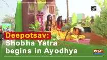 Deepotsav: Shobha Yatra begins in Ayodhya
