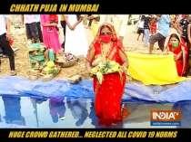 Maharashtra govt creates artificial pond for devotees to celebrate Chhath Puja amid coronavirus scare