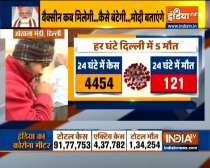 Coronavirus Delhi: Over 100 deaths for fourth day in a row