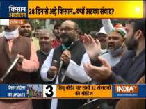 Farmers to hold meeting at Singhu border shortly, Congress hold protest in Lucknow against Farm laws