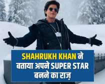 Shah Rukh Khan opens about his success story