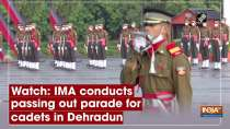 Watch: IMA conducts passing out parade for cadets in Dehradun