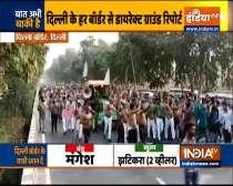 Bharatiya Kisan Union Lok Shakti members head to Delhi, in support of farmers