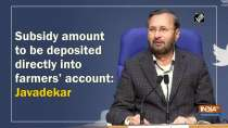 Subsidy amount to be deposited directly into farmers