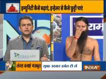 Home remedies to cure dandruff from Swami Ramdev
