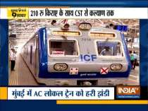 AC local train services begins in Mumbai | Watch Top 9 for more news