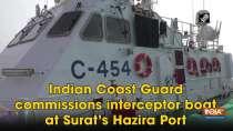 Indian Coast Guard commissions interceptor boat at Surat