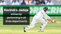 AUS vs IND: Ravindra Jadeja shines by performing in all three departments