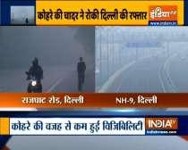 Delhi witnesses moderate fog today