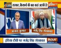 India TV Exclusive: Union Minister Gajendra Singh Shekhawat on farmers protest