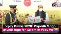 Vijay Diwas 2020: Rajnath Singh unveils logo for