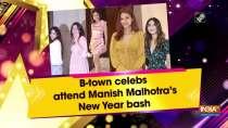 B-town celebs attend Manish Malhotra