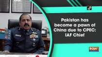 Pakistan has become a pawn of China due to CPEC: IAF Chief