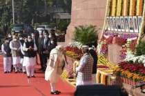 Delhi: PM Modi pays tribute to 2001 Parliament attack martyrs