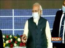 PM Modi lays foundation stone of world