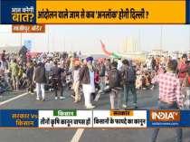 Tomar, Goyal hold talks with farmer leaders amid protest; heavy traffic jam on Delhi borders