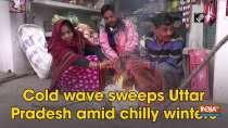 Cold wave sweeps Uttar Pradesh amid chilly winters